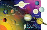 Maple Landmark Solar System Lift and Learn Puzzle