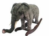 "Hansa Elephant Rocker, 32""L X 24""H"
