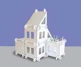 Mod House Modular Cardboard Doll House
