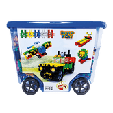 Clics Build & Play Rollerbox Construction Set, 560 Pieces (CB606)