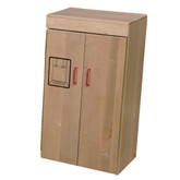 Heritage Solid Maple Play Refrigerator
