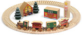 North Pole Village Railway Train Set By Maple Landmark (11232)