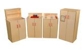 School Age Play Kitchen, Set of Four Appliances (WD10040)