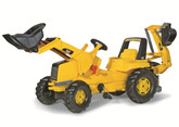 CAT Front Loader Pedal Tractor with Backhoe