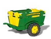 John Deere Pedal Tractor Farm Trailer