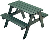 Little Colorado Child's Picnic Table - Green