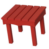 Little Colorado Adirondack End Table - Red