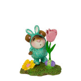 Wee Forest Folk Miniature - Easter Romper Boy (M-344c)