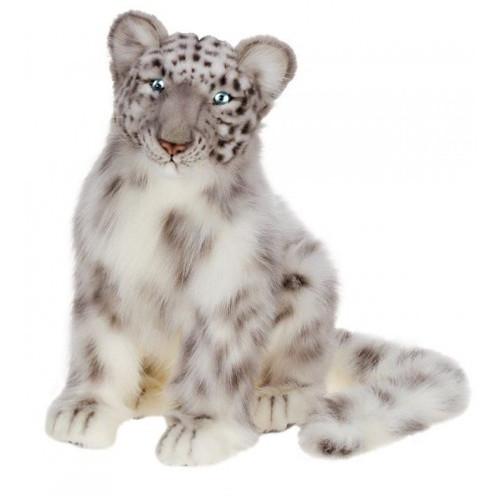 Hansa Snow Leopard Cub, Sitting 17''L (4355)