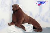 "Hansa Sea Lion, Laying 62""L x 31.5''"