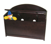 Lipper International Child's Toy Chest, Espresso Finish