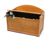 Lipper International Child's Toy Chest, Pecan Finish