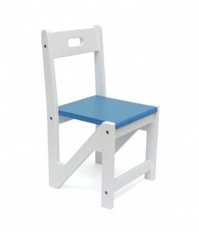 Lipper International Kids ZigZag Stacking Chairs, Set of 2, Blue