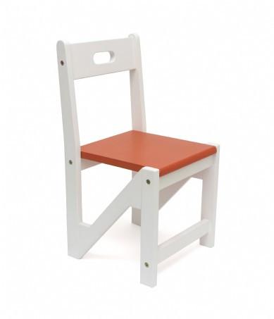 Lipper International Kids ZigZag Stacking Chairs, Set of 2, Orange
