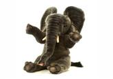 Hansa 5487 Elephant Stuffed Animal. A cuddly, plush elephant.