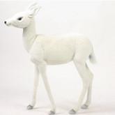 Hansa White Reindeer Baby, 29'' (5925)