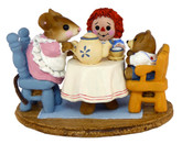 Wee Forest Folk Miniature - Tea for Three (M-177)