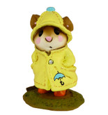 Wee Forest Folk Miniature Figurine - April Showers (M-180-Yellow)