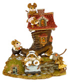 Wee Forest Folk Miniature - Little Mice Who Lived in a Shoe (M-189)