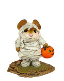Wee Forest Folk Miniature - The Mummy (M-194-White)