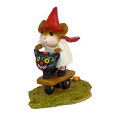 Wee Forest Folk Miniature - Scootin' with the Loot (M-296)