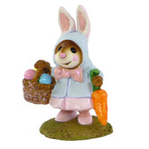 Wee Forest Folk Miniature - Miss Esther Bunny (M-306-Blue)