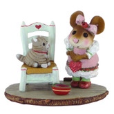 Wee Forest Folk Miniature - My Valentine Kitty (M-431)
