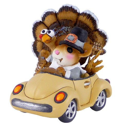 Wee Forest Folk Miniature - Honk for Thanksgiving! (M-454d)
