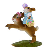 Wee Forest Folk Miniature - Easter Bunny Hop (M-479)