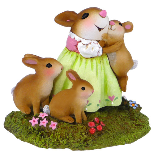Wee Forest Folk Miniature - Honey Bunnies (M-502)