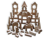 Beka Wooden Blocks - 90 Piece Special Shapes Collection