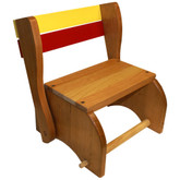 Holgate Classic Wooden Step Stool Chair - Solid Seat