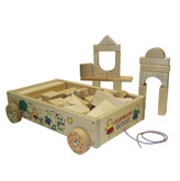 Holgate Wooden Wagon of Blocks