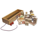 Holgate Wooden Railroad Block Set