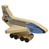 Holgate Airforce One Airplane - Johnson