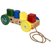 Holgate Form & Peg Wagon Pull Toy