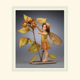 R John Wright Dolls - Hazel Nut Flower Fairy