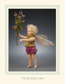 R John Wright Dolls - Heather Flower Fairy