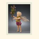 R John Wright Dolls - Heather Flower Fairy