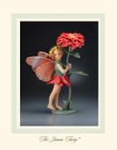 R John Wright Dolls - Zinnia Flower Fairy
