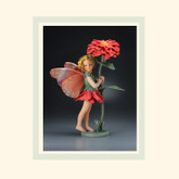 R John Wright Dolls - Zinnia Flower Fairy