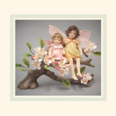 R John Wright Dolls - Apple Blossom Flower Fairies