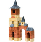 Anker Steinbaukasten Stone Building Set - Extension Set 4A  (65 Blocks)