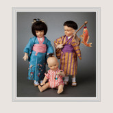 R John Wright Dolls - Children of Japan