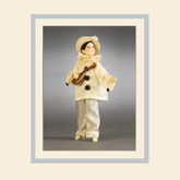 R John Wright Dolls - Pierrot