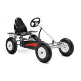 Berg Basic AF Pedal Go-Kart - Silver & Black