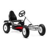Berg Extra AF Pedal Go-Kart - Silver & Black