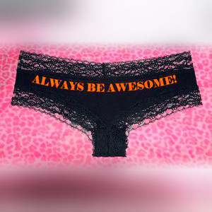 "GFT Custom ""Cheeky Cut"" Ladies Panties"
