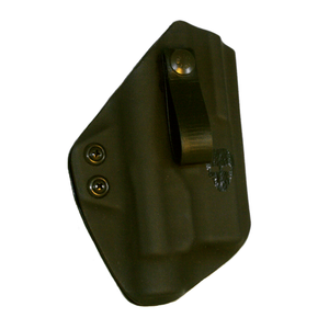 Ready2Ship Appendix (AIWB) Holster - G19 w/ TLR1 Light - The Alpha  Lima - Front - Black