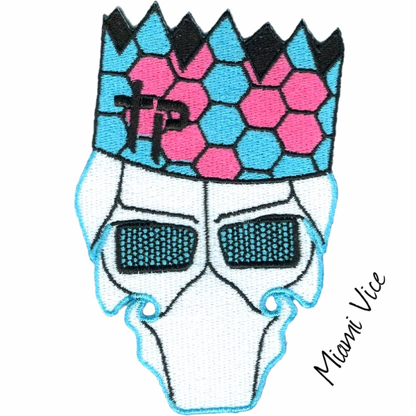 Paper Hat Garry Patch - Miami Vice